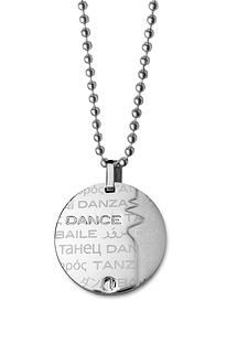 Show the World that DANCE is your passion with our dance theme pendant necklace made of the highest Stainless Steel quality 316L at: www.my316L.com (for: $30.60) #dance #dancing #passion #movement #rhythm #songs #choreography #ballet #breakdance #hiphop #tango
