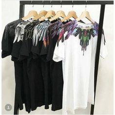 dbb179e4694 Marcelo Burlon T-Shirts 18SS Men Women 1 1 Italy Fashion Marcelo Burlon  Topeticdress