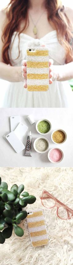 Beaded Phone Case | 27 Easy DIY Projects for Teens Who Love to Craft
