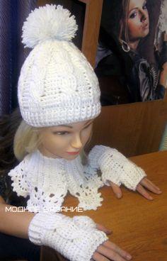 шапочки,шарфики - Crochet Modnoe Vyazanie