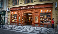 U ceske orlice - Souvenyrs shop in Prague