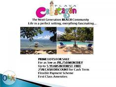 Beachfront , Beach Lot , Beach Property lot in Playa Calatagan
