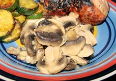 Easy Mushrooms in Foil
