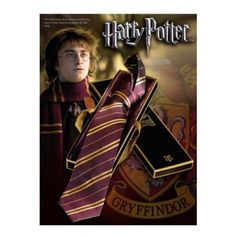 Harry Potter Tie Gryffindor | Captain Hook Merchandise