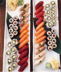It's finally Friday, who's having sushi to celebrate? Follow @makesushi1 for more sushi and go to buff.ly/2nf5rwA for more recipes Pic via @kimiaskravings Make Sushi http://ift.tt/2EbUhkd