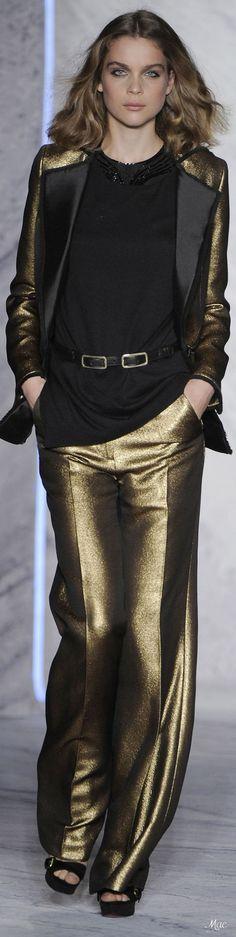 Fashion Pants, Fashion Shoes, Gold Fashion, Womens Fashion, Gold Rush, 3.1 Phillip Lim, Black Gold, Plus Size Fashion, Prada