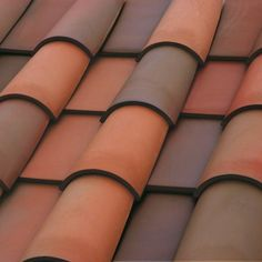 PTT: roofs from TruExterior.com; 1URDU6073 - Romano Pans - Clay - Roofing - Boral USA