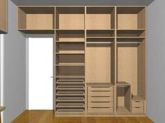 Resultado de imagem para guarda roupa planejado casal quarto pequeno