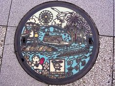 Japanese manhole covers by MRSY-23
