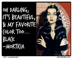 Alternative Lifestyle Addams Family Quotes, My Favorite Color, My Favorite Things, Morticia Addams, Lifestyle, Celebrities, My Style, Beautiful, Gothic
