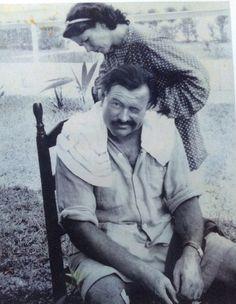 Papa Ernest Hemingway gets a trim