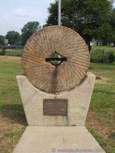 Millstone at Delmorr and E. Bridge - Morrisville, Pa