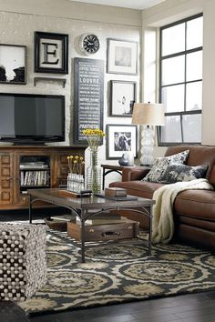 Tips & tricks on how to decorate around your TV and still make your room look gorgeous!   Design Dazzle