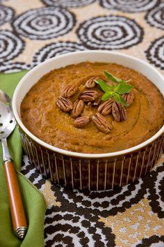 Sweet Pumpkin Polenta Recipe | Healthy Polenta Recipe | Cheryl Forberg Recipes