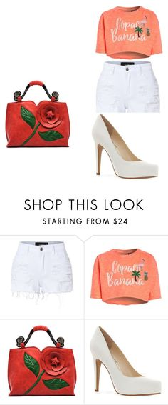"""""""kklove1"""" by explorer-14945089776 on Polyvore featuring LE3NO and Jessica Simpson"""