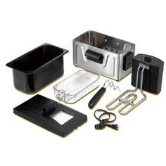 2-Liter Professional Deep Fryer Black 8cup Oil Capacity Fast Cook French NEW   eBay
