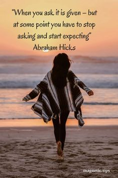The universe always delivers, but in order to receive you have to expect it and let go. Read my blog post to discover who is Abraham Hicks and how he can help make your dreams a reality.