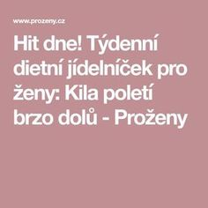 Myslíme si, že by sa vám mohli páčiť tieto piny - zdenakolodzejova Keto Recipes, Healthy Recipes, Detox, Food And Drink, Health Fitness, Fitness Life, Weight Loss, Exercise, Ejercicio