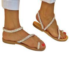 584afbbe2abc4 Phyllis Strass AB - flat Sandal Flat Sandals