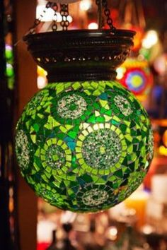 Choosing the best lamp for your home can be challenging because there's such a variety of lamps from which to select. Get the perfect living room lamp, bedroom lamp, table lamp or any other style for your specific space. Turkish Lanterns, Turkish Lights, Turkish Lamps, Mosaic Art, Mosaic Glass, Room Lamp, Unique Lamps, Mosaic Designs, Diffused Light