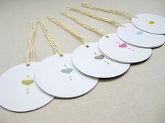 Love Drops gift tags by Lemon Tree Lane