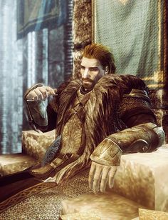 """[Ulfric Stormcloak. The Elder Scrolls V: Skyrim] """"I fight for my people impoverished to pay the debts of an Empire too weak to rule them, yet brands them criminals for wanting to rule themselves! I fight so that all the fighting I've already done hasn't been for nothing! I fight... because I must."""""""