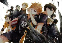 Haikyuu! C'est un manga qui parle de volley!! C'est juste trop bien, on en a le souffle coupé !!