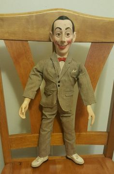 vintage peewee herman posable talking doll. matchbox. 80s from $11.01