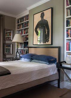 bedroom in Hudson Valley