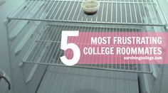 5 Most Frustrating College Roommates - click through to see our top picks.