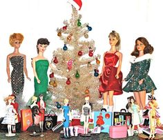 Doll Christmas Tree