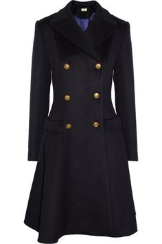 Issa|Wool and cashmere-blend coat|NET-A-PORTER.COM Love love love, mus own.