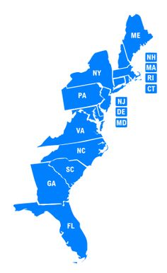 The I-95 Exit Guide | Restaurants, Diners and fast Food