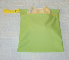 11x13  Green Wet Bag  Hanging Zippered Wet Bag  Travel by WetBagIt, $13.99