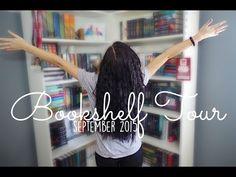 BOOKSHELF TOUR: SEPTEMBER 2015. - YouTube