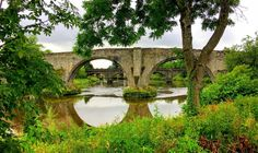 Old Stirling Bridge, Battle of Stirling Bridge, William Wallace Braveheart Battle Of Stirling Bridge, William Wallace, Bravest Warriors, Military Spouse, River Walk, Braveheart, Scotland Travel, Virtual Tour, Travel Ideas