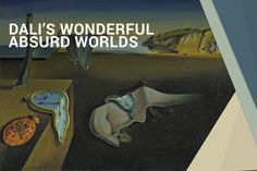 Salvador Dali 's wonderful absurd worlds Fine Arts School, Art School, Salvador Dali, Mindset, Posts, World, Creative, Blog, Attitude