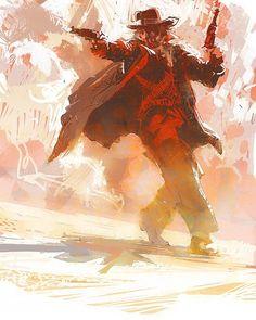 running_gunman.jpg  by Craig Mullins