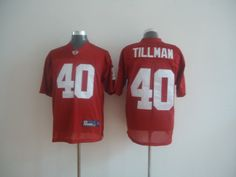 Reebok NFL Arizona Cardinals 40 Pat Tillman Red Jersey:$21