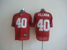 Reebok NFL Arizona Cardinals 40 Pat Tillman Red Jersey:$21