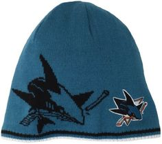 6ecfe643 NHL San Jose Sharks Reversible Player Knit Hat, One Size,Green adidas.  $23.97