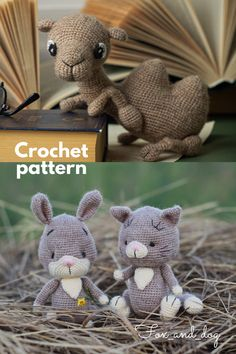This patterns set includes cat, bunny and camel patterns. - 3 downloadable pdf-files! The instructions will help you to make three cute crochet toys, they are easy to follow. ❗️ This is downloadable pdf-files, not finished toys ❗️ #crochetanimals #amigurumi