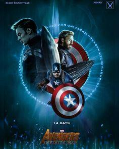 #Captain America #Avengers Infinity War #FanArt #Marvel #FanMade