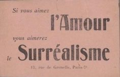 """If you love love - you will love Surrealism."" Heartbreakingly beautiful ephemera from our Eluard-Dausse collection - first organized by our esteemed colleague, Sheelagh Bevan, who is now working at. Fleur Delacour, Night Circus, Typography, Lettering, Mood Boards, How To Look Better, At Least, Self, Romantic"