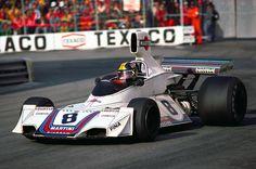 1975 Brabham BT44B - Ford (Carlos Pace). Such a sexy car.
