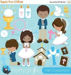 80 % OFF vente première communion clipart commercial utilise, christian clipart, des graphiques vectoriels bible, digital - CL836