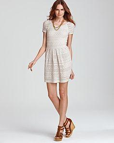 Tibi Crochet Dress.