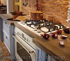 Home - Ceramica Senio Country Chic, Oven, Kitchen Cabinets, Flooring, Interior Design, Home Decor, Handmade Tiles, Firenze, Blue Green