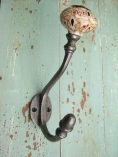 Decadent Face Coat Hook | Antiqued