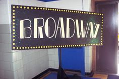 party props decorations new york theme broadway sign props and scenery special event decore themed events themes Party Props, Party Themes, Party Ideas, Themed Parties, Party Party, Broadway Sign, Broadway Party Theme, Broadway Theatre, Broadway Party